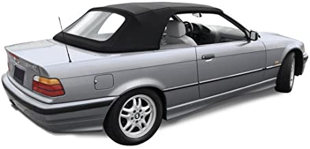 Sierra Auto Tops Convertible Top Compatible With BMW 1994-1999 3 Series (E36), TwillFast II Canvas, Black