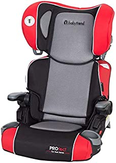Baby Trend Protect Car Seat Series Yumi 2-In-1 Folding Booster Seat - Red - HB40B43A
