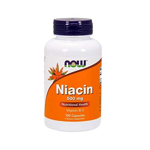Now Foods P4069 la Niacina 500 mg, 100 Unidades 100 g