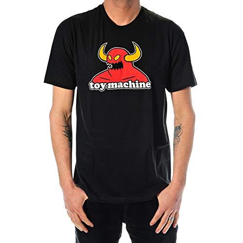 Toy Machine Monster Black T-Shirt Nero Medium