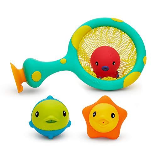 Munchkin Catch and Score Basketball Bath Toy, Multi