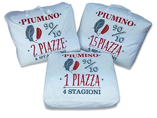 Tex family Piumino D'Oca 4 Stagioni 90/10-2 PIAZZE