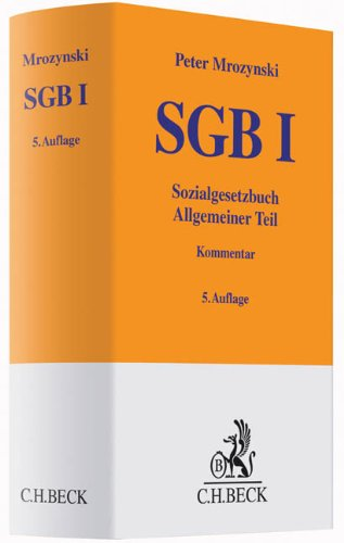 SGB I: Allgemeiner Teil
