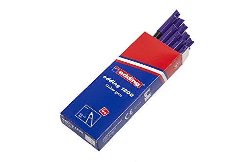 Edding 1200-008 - Rotulador con punta de fibra