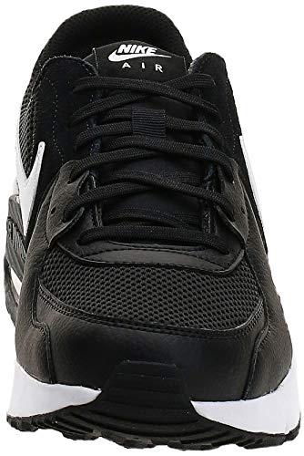 Nike Air MAX Excee, Zapatillas Hombre, Negro/Blanco-Gris Oscuro, 45 EU