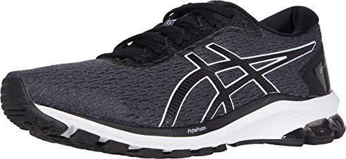 ASICS GT-1000 9 Zapatillas de correr para hombre, (Portaequipajes gris/negro.), 44 EU