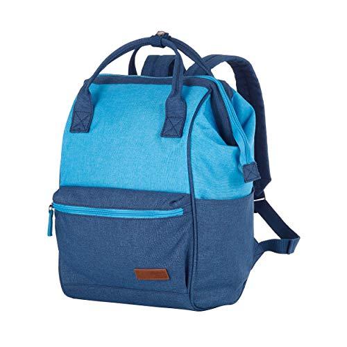 Travelite Lichte, flexibele en casual zachte bagage – trolley, rugzakken, reistassen in surferlook schoudertas, handtas rugzak, marine/blauw. (blauw) - 090102-20