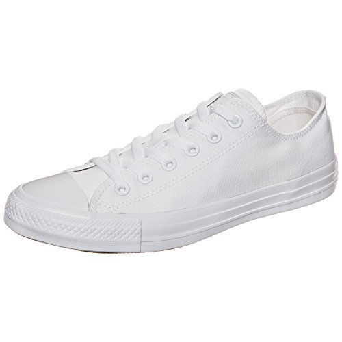 Converse Chuck Taylor All Star, Unisex - Erwachsene Sneaker,  Weiß (Monocrom), 46 EU