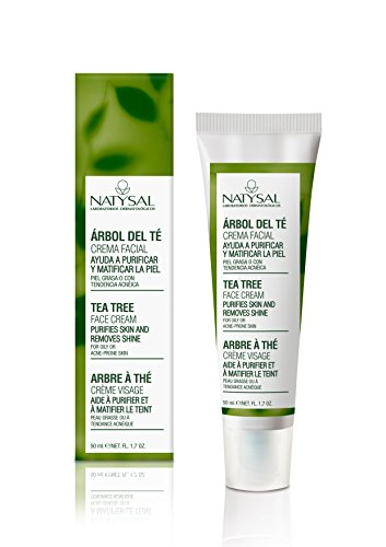 NATYSAL - CREMA FACIAL TEA TREE 50ml NATYSAL