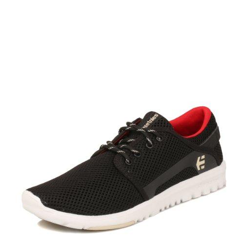 Etnies Herren Scout Sneaker, Schwarz (Schwarz / Rot), 43 EU(9 UK)