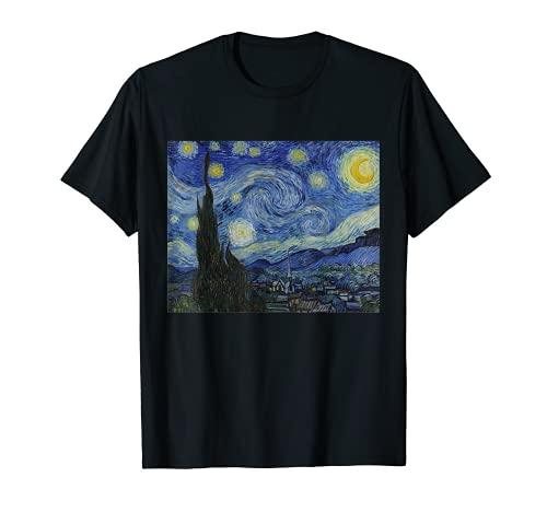 Notte stellata di Vincent van Gogh   Famoso dipinto Maglietta