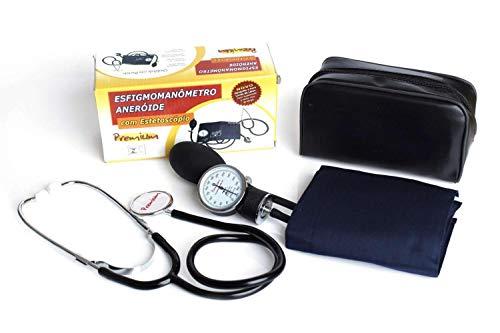 Kit Estetoscópio + Aparelho De Pressão Arterial Premium