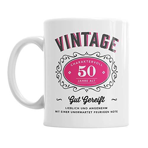 Design, Invent, Print! Tasse zum 50. Geburtstag - passend für Frauen - witzige Geschenkidee - Weiß - ca. 285 ml - 10 oz