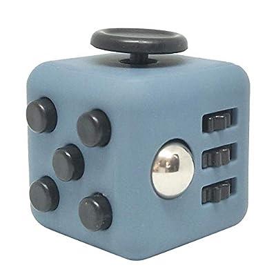 Cuttey Stress Relief Cube Desk Squeeze Cube Toys Anti-Stress Hand Magic Mini Cube Juego y Rompecabezas Supple Sustainable de