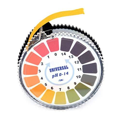 sdgfd Indikatorpapier Universal PH Teststreifen, Messbereich -14, Lackmus Indikator Universalpapier, Urintest, Säuretest für Aquarien, Trinkwasser