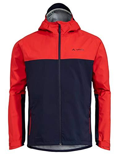 Vaude Herren Jacke Men's Moab Rain Jacket, Mars Red, L, 40848