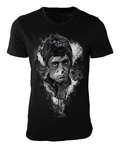 Al Pacino Scarface I T-Shirt stilvolles Designershirt von Paul Sinus
