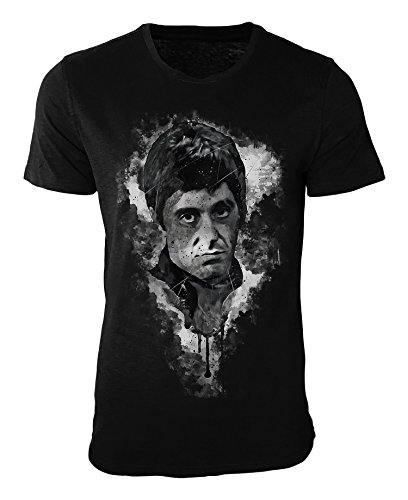 Al Pacino Scarface I T-Shirt stilvolles Designershirt von Paul Sinus
