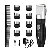 Best Hair Clippers - SUPRENT Cordless Hair Clippers for Men, Professional Rechargeable Review