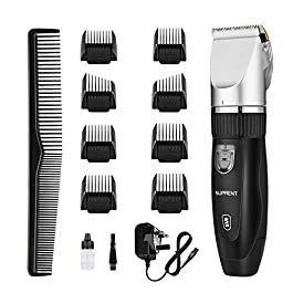 Hair Clippers for Men SUPRENT Cordless Hair Clippers