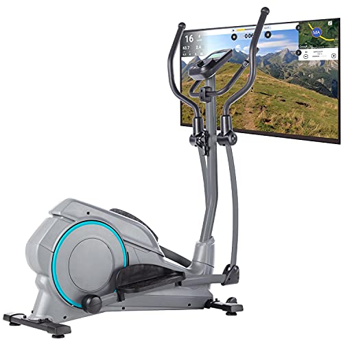 Skandika Hjemme - Vélo elliptique crosstrainer - Inertie18 kg- 20 Prog - Max 150 kg - Bluetooth -...