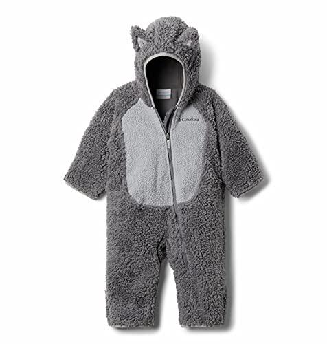 Columbia Baby Foxy Baby Faux Sherpa Bunting, City Grey/Columbia Grey, 12/18