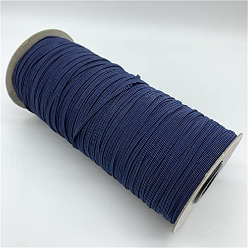 SHIYONG NavyblueBanda elástica de Costura de AltaElasticidadBanda de Goma Banda de Cintura Cuerda elástica Cinta elástica