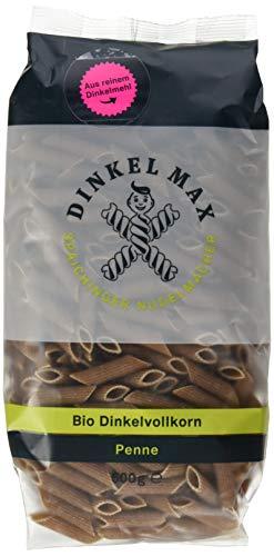 Dinkel Max Vollkorn Penne Bio, 5er Pack (5 x 500 g)
