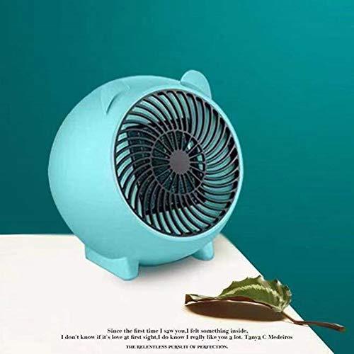 HNHT Mini-kachel van keramiek, elektrisch, geluidsarm, met automatische oscillatie, oververhittingsbeveiliging van de thermostaat, 3 instellingen