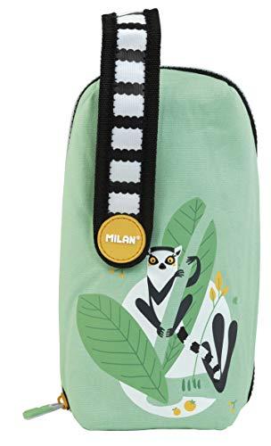 Kit 4 estuches con contenido Hide & Seek, verde (lémur)