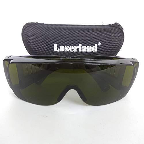 Laserland TBGR Laserschutzbrille 405nm 450nm 400-700nm Halbleiterlaser Laserdiode Festkörperlaser LED Kosmetikgeräte Laser Brille UV RotBlau Grün 473nm 515nm 520nm 635nm 660nm Laser schutzbrille