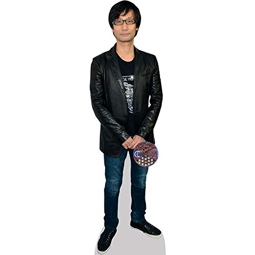 Celebrity Cutouts Hideo Kojima (Jeans) Pappaufsteller lebensgross