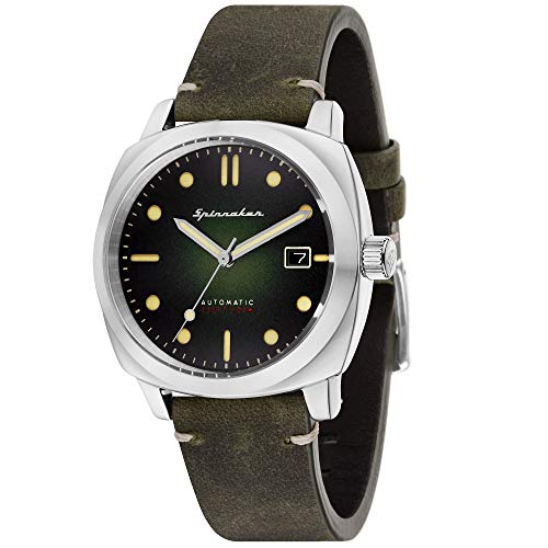 Orologio da uomo Spinnaker – Gamma Vintage – Hull – Automatico – 42 mm – 10 ATM – Cinturino in pelle marrone – SP-5059-03