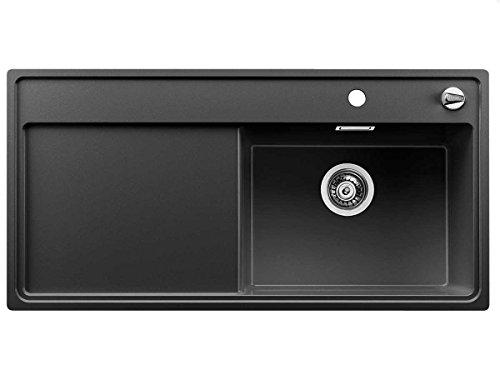 Blanco Zenar XL 6 S-F Anthrazit Silgranitspüle Küchenspüle Schwarz flächenbündig