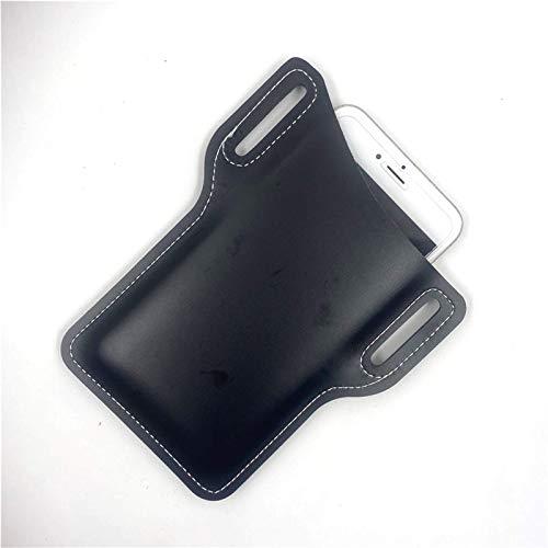 Herren Leder Vintage Pack Taille Tasche Gürtel Clip Telefon Holster Reise Wandern Handy Handy Tasche Gürtel Tasche Geldbörse