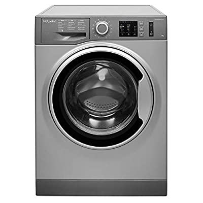 Hotpoint NM10844GSUK 8Kg Washing Machine with 1400 rpm - Graphite