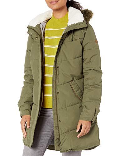 Roxy Damen Ellie Jacket Jacke, Grün (Ivy Green), X-Small