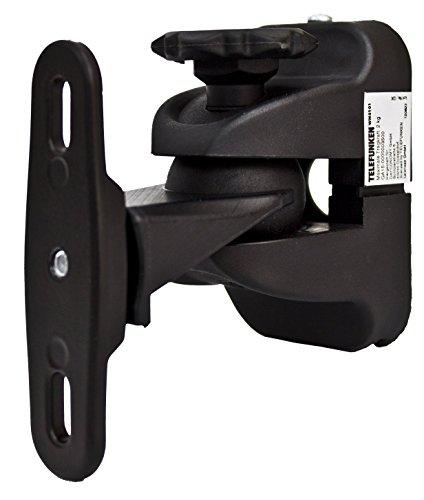 Telefunken WMS101 Lautsprecher-Wandhalterung (max. 2 kg, neigbar, schwenkbar)
