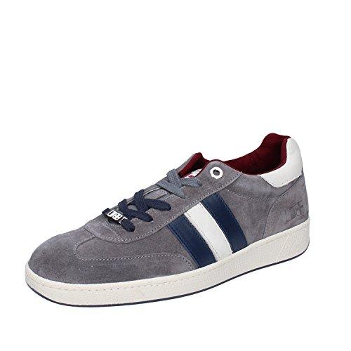 dacquasparta uomo scarpe D'Acquasparta Sneaker Uomo Pelle Scamosciata Grigio 39 EU