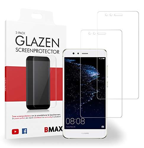 2-pack BMAX Glazen Screenprotector Huawei P10 Lite/Beschermglas/Tempered Glass/Glasplaatje