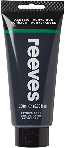 Reeves - Pintura acrílica 200 ml, Gris de Payne