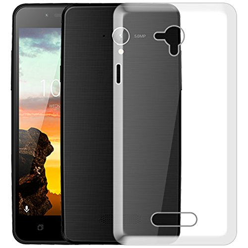 Hello Zone Exclusive Soft Transparent Crystal Clear Back Cover Back Case Cover for karbonn Yuva 2