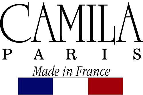 Camila Paris AD2/2 French Hair Barrettes Clips for Girls, 2 Pack Small Strong Hold Grip Hair Clips for Women, No Slip…