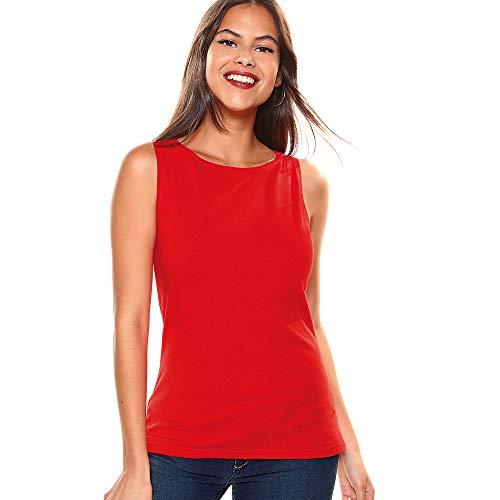 Camiseta sin Mangas de Escote Barco Mujer by Vencastyle - 112193