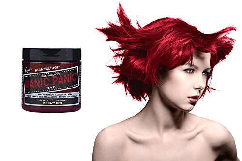 Manic Panic High Voltage Classic Cream Formula Colour Hair Dye (Infra Red)