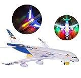 Top Race Tr-A380 Avión  Modelo de juguete Airbus, blanco