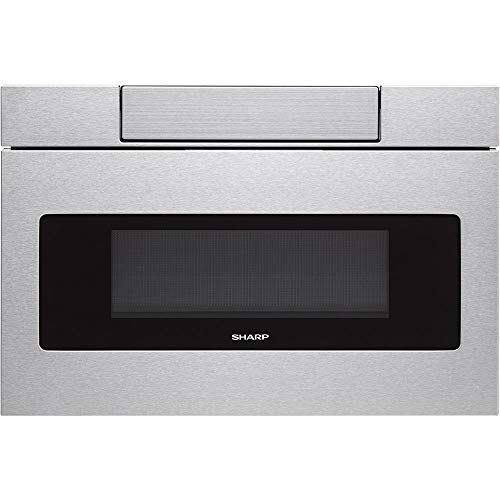 SHARP SMD3070AS Microwave Drawer Oven, 30', Stainless Steel