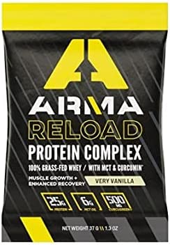 2021new shipping free shipping Arma Nutrition Reload Protein Complex Serve Outlet SALE Single Packet Very