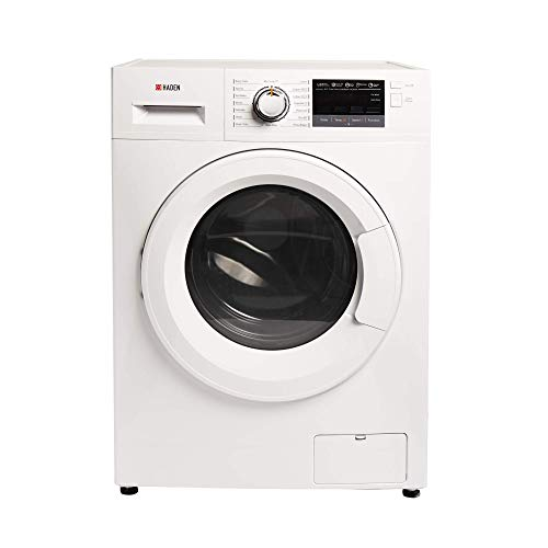 Haden HW1610 Washing Machine – Freestanding Multifunction Front Loading Washer, 1600rpm Spin, 10kg Load, White - ca04