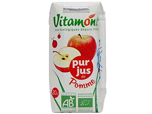 ヴィタモント 有機アップルジュース(100%ストレートジュース) 1ケース(24本入り)